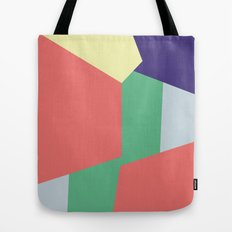Mysterious Shapes Tote Bag