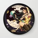 Space_girl Wall Clock