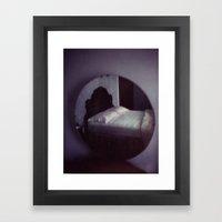 homemade study no. 20 (mirror) Framed Art Print
