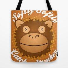 Softly Softly Catchee Monkey Tote Bag