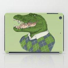 Argyle Crocodile iPad Case
