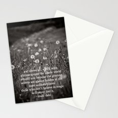 roald dahl's magic Stationery Cards