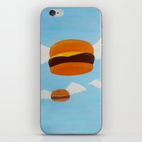 Bob's Flying Burgers iPhone & iPod Skin