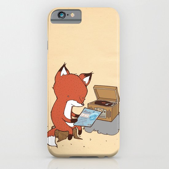 Record Player iPhone & iPod Case