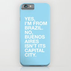 From Brazil II Slim Case iPhone 6s