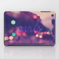 Paris Lights iPad Case