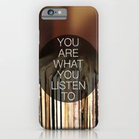 iPhone & iPod Case featuring You Are What You Listen To by Galaxy Eyes