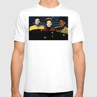 IT Trek Mens Fitted Tee White SMALL