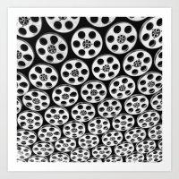 Hollywood & Vine Film Sp… Art Print