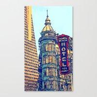 North Beach, San Francisco #068 by Mark Gould Canvas Print