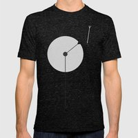 Dandelion Mens Fitted Tee Tri-Black SMALL