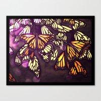 The Monarch (variation) Canvas Print