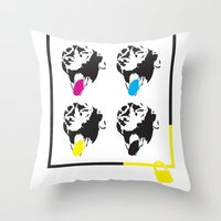 Save Dudley Throw Pillow