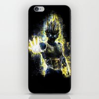 The Prince Of All Fighte… iPhone & iPod Skin