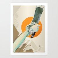 SERVITUDE Art Print