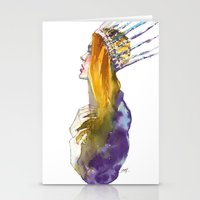 Fashion - Ice Queen Stationery Cards