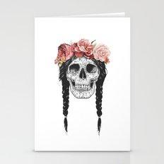 Festival skull Stationery Cards