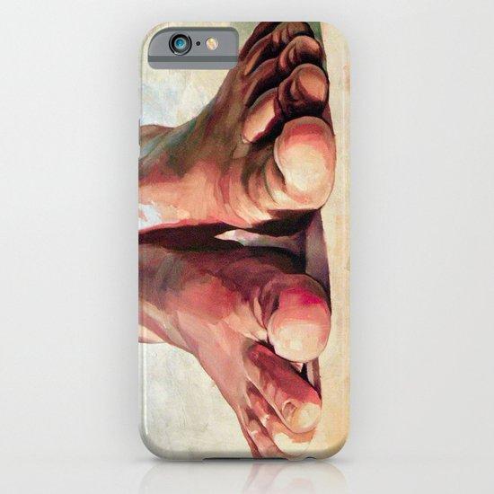 Pensando con los pies iPhone & iPod Case