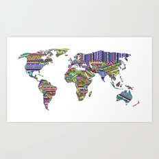 Overdose World Art Print
