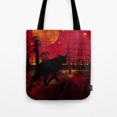 Cleo in the Dark Tote Bag