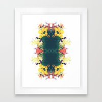 Summer Bouquet Psychedelia 2012 Framed Art Print