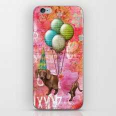 Party Dog 1 iPhone & iPod Skin