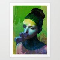 Anonym2 Art Print