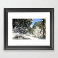 Long & Winding Road Framed Art Print