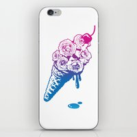 Tastes Like Roses iPhone & iPod Skin