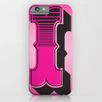 iPhone & iPod Case featuring Alphabet I by greckler