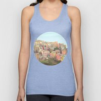 Colorful Houses Unisex Tank Top