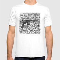 GOOD BLASTER Mens Fitted Tee White SMALL