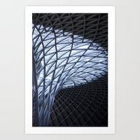 King's Cross, London Art Print