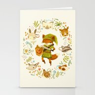 The Legend Of Zelda: Mam… Stationery Cards