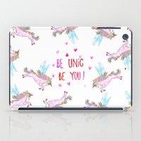 Be Unic Be You! iPad Case