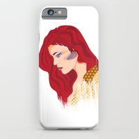 iPhone & iPod Case featuring Glam Red Rock by clickybird - Belinda Gillies