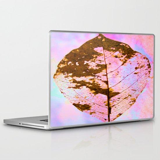 Leaf Skeleton Laptop & iPad Skin
