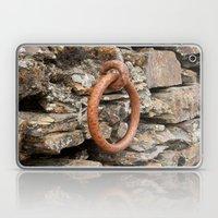 Rusty mooring ring Laptop & iPad Skin