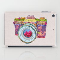 Floral Canon iPad Case