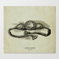 KOH-I-NOOR (mountian Of … Canvas Print