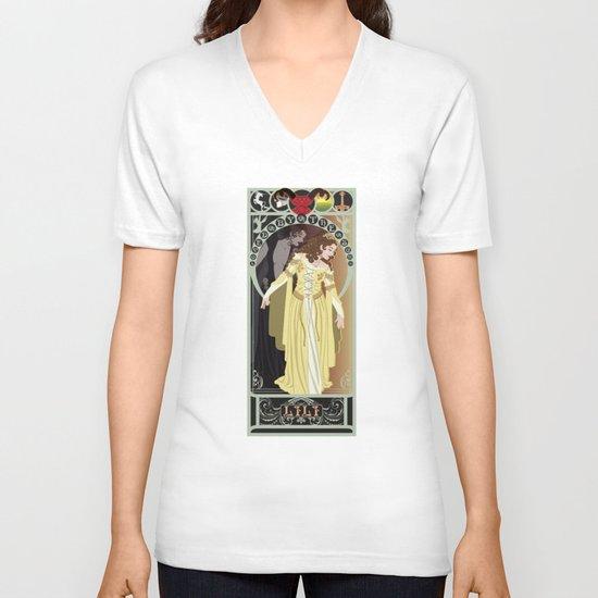 Lili Nouveau - Legend V-neck T-shirt