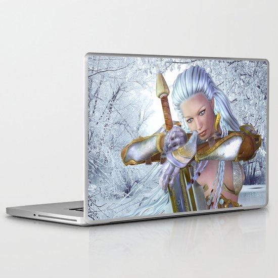 Frozen in thought Laptop & iPad Skin