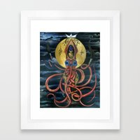 Saint Architeutis Dux Framed Art Print