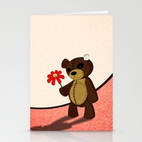 Sweet teddy Stationery Cards