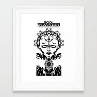 Superheroes SF - SN Framed Art Print