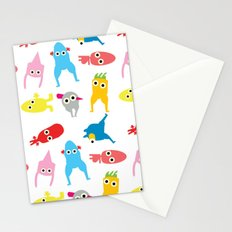 mur pattern1 Stationery Cards
