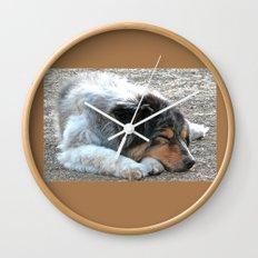 Zzzzz Wall Clock