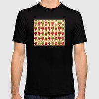 Non-player Character Mens Fitted Tee Black SMALL