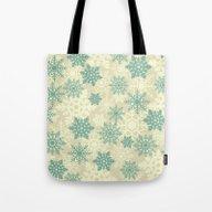 Snowflakes #2 Tote Bag