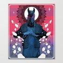 Behold your King - MEGA CHEVAL Canvas Print